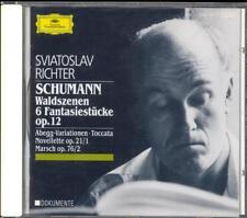 SCHUMANN - Fantasiestucke / Waldszenen / Toccata etc - Sviatoslav RICHTER - DG