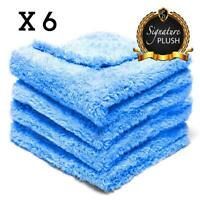 Edgeless Microfibre Cloths 6 Pack Plush Microfiber Car Detailing Pure Definition