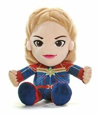 """NEW OFFICIAL MARVEL COMICS CAPTAIN MARVEL LARGE 12"""" PLUSH SOFT TOY TEDDY BNWT"""