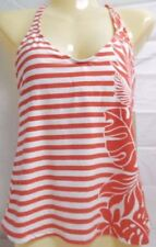 67ba4ad97a Beach House Size 6 Coral Cross Back New Womens Tankini Top Swimwear