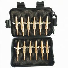12Pcs Hunting Archery Broadhead 100 Grain Compound Bow Crossbow Shooting Tips