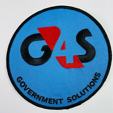 G4S Government Solutions Security Kingsport Tennessee Patch
