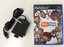 Sony Playstation 2 PS2 Eye Toy USB Camera Webcam with Eye Toy PLAY Game