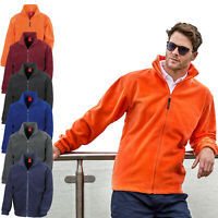 Result Mens Full Zip Up Fleece Jacket Outdoor Heavy Warm Anti Pill Work Polar