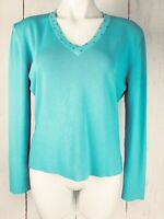 NWT Evolution by Cyrus Grey Pullover Sweater Flutter Long