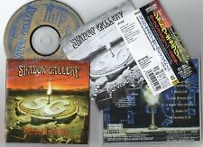 Shadow Gallery - Carved In Stone - 1995 Japan obi + b/t ** Progressive Metal