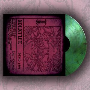 SOLSTICE - Demo 1991 (NEW*LIM.200 MARBLE GREEN*US THRASH METAL '91*D.HAMMER).