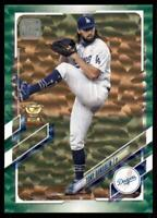 2021 Topps Series 1 Base Green #230 Tony Gonsolin RC /499 - Los Angeles Dodgers