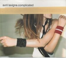 """AVRIL LAVIGNE   Rare 2002 UK Only OOP 4 Track Pop CD Rom Single """"Complicated"""""""