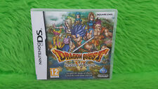 DS Dragon Quest VI 6 Realms of Reverie Lite DSi 3DS PAL Region Free