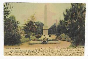 Vintage South Carolina Rotograph Postcard Confederate Monument Aiken Military