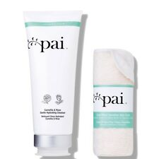 Pai Skincare Camellia & Rose Gentle Hydrating Cleanser w/ Cloth 6.8oz/200ml Nwob