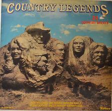 "COUNTRY LEGENDS - JOHNNY CASH - DON WILLIAMS ETC. 12"" LP (O253)"
