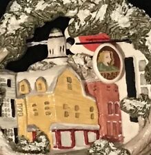 Hand Painted, Artist Signed Ornament, Pitsburgh, PA 1728