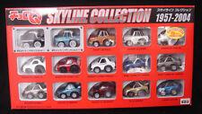 JAPAN TOMY CHORO Q NISSAN SKYLINE GT-R HISTORY COLLECTION 1957-2004 CAR SET RARE