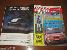 AUTOSPRINT 1991/41=ANDRETTI JR.=ALESSANDRO NANNINI=PEUGEOT 106=BUSI F.3=