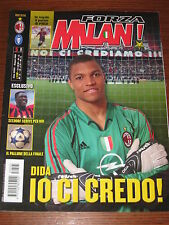 FORZA MILAN 2005/5 POSTER PIRLO! FINAL CHAMPIONS LEAGUE PROGRAMME LIVERPOOL @@