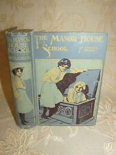 Antique Collectable Book Of The Manor House School, By Angela Brazil - 1920's