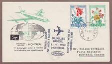 Belgium FFC - Brussels / Montreal Canada - 4/1/60 - I Combine S/H