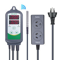 Inkbird ITC308 Wirless Temperature Controller Reptiles Pythons Tank Monitor 220V