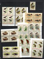 More details for (v38) 1970 norfolk is birds mnh set in blocks  and singles see scans