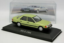 Ixo Presse 1/43 - Mercedes 300 E 1984 Verte