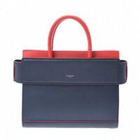 GIVENCHY Horizon Navy blue / red Hand Bag 800000084457000