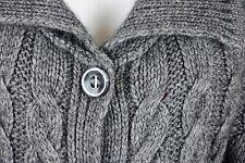 Jersey para mujer Con botones Color gris negro