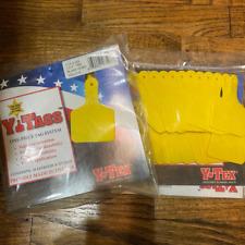 Yellow Y-Tex Ytag Calf size 1 piece ear tag blank (50Tags)