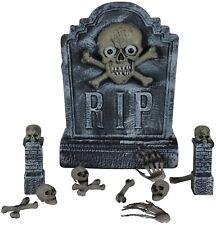 Grave DIGGER Tomba Pietra Cimitero Rising Spaventoso Halloween Festa Decorazione Prop
