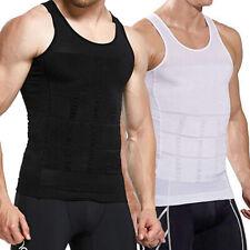 Men Slimming Body Shaper Posture Corrector Vest Abdomen Compression T-Shirt Tank