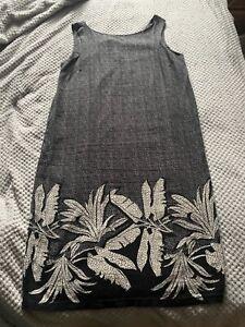 ❤️Next linen blend shift dress size 16T excellent used condition!❤️