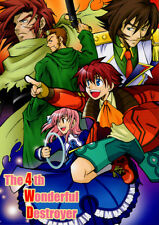 Wild Arms 4 Doujinshi Comic Hauser x Ethelda Jude The Brionac Forces The 4th Won