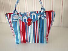 Schultertasche, Damentasche, maritime Tasche, Shopper, Handtasche, Handarbeit