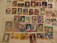 Greg Maddux Rookie Card Chicago Cubs and Braves Hall Of Fame Singles LOT of 52