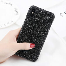 Sparkle Bling Glitter Crystal Diamond Hard Phone Case For iPhone X 8 7 6 6s Plus