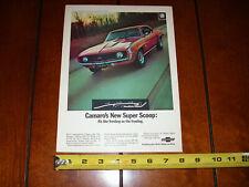 1969 CAMARO ORIGINAL VINTAGE AD