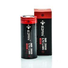 1x EFAN IMR 26650 5500mAh 60A Battery   Authentic High Drain Flat Top Batteries
