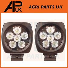 2 X 60W CREE LED Work Light Lamp 10-30V Flood Beam Digger Tractor Lorry Jeep ATV