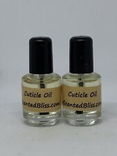 Cuticle Oil Premium Essential Oils * LOT of TWO * 1/8 oz Bottles A Scented Bliss
