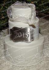Hallmark Keepsake, Wedding Ornament (QHX1167) Porcelain Cake