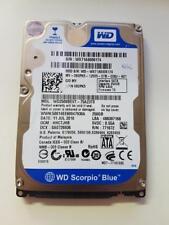 """WD Scorpio Blue 2.5"""" Sata HDD 250GB WD 2500 BEVT - 75A23T0 PCB 2060-771672-004 REV un"""