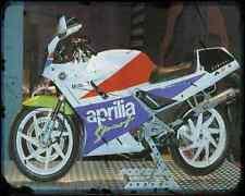 Aprilia Af1 125 Sintesi Sport 1 A4 Metal Sign Motorbike Vintage Aged