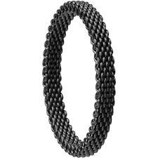 BERING Ring Innenring schmal mesh 551-60-X1 Edelstahl 551-60-81 schwarz Gr 63