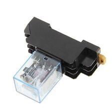220//240V AC Coil DPDT Power Relay MY2NJ 8 Pin w Socket Base T6E6 20X