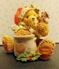 """Collectible 1992 Cherished Teddies""""A Season Filled With Sweetness"""" Steven 951129"""