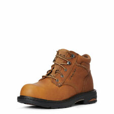 Ariat Women's Macey Peanut Brown Comp Toe Lace Up Work Boot 10005949
