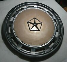 "DODGE CHRYSLER PLYMOUTH 14"" HUBCAP 439 B PAINTED GOLD OEM ARIES LE BARON"