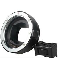 Commlite AF Auto Adapter for Canon EOS EF EF-S lens to Sony NEX E-mount Camera