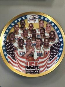 DREAM TEAM II USA BASKETBALL PLATE 913 / 1994 SPORTS IMPRESSIONS 1994 RARE B39